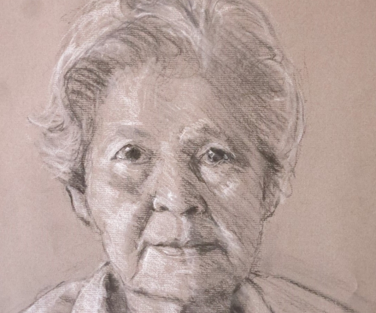 Portrait sketch M